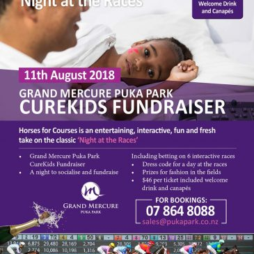 Night at the Races 'CureKids' Fundraiser at the Grand Mercure Puka Park Resort