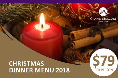 Christmas Dinner at Grand Mercure Puka Park
