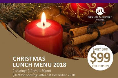 Christmas Lunch at Grand Mercure Puka Park