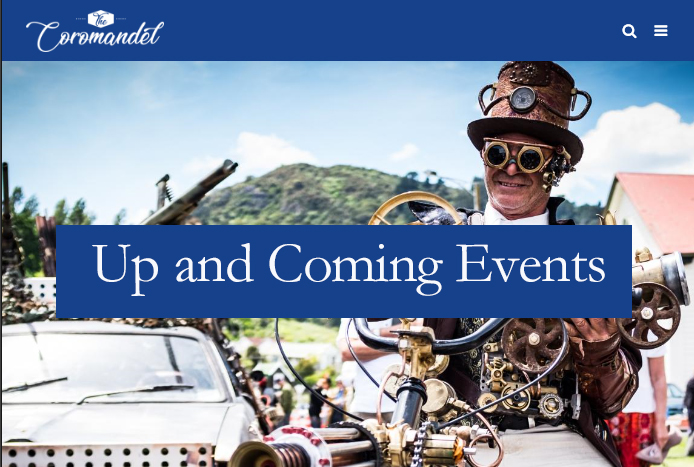Up and Coming Events in the Coromandel