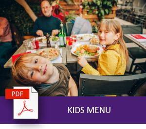 Grand Mercure Puka Park Resort Kids Menu