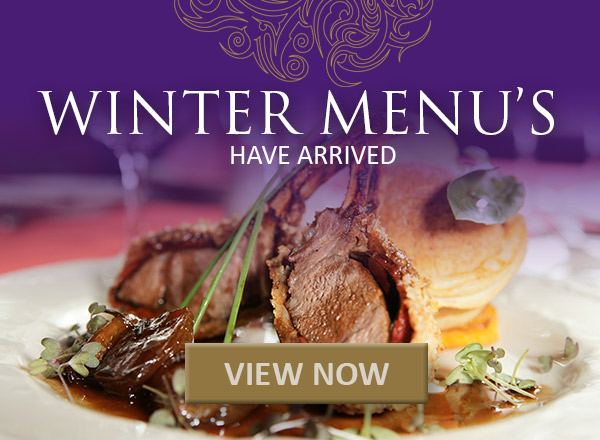 NEW Winter Menus are here