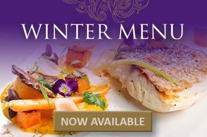 NEW Winter Menu has arrived