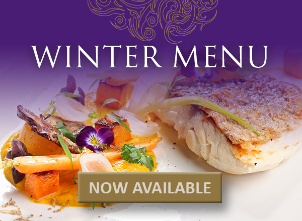 NEW Winter Menu has arrived